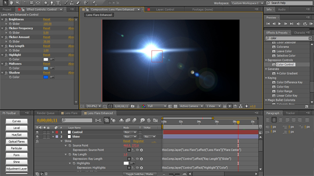 11 Breathe Life Back Into the After Effects Lens Flares