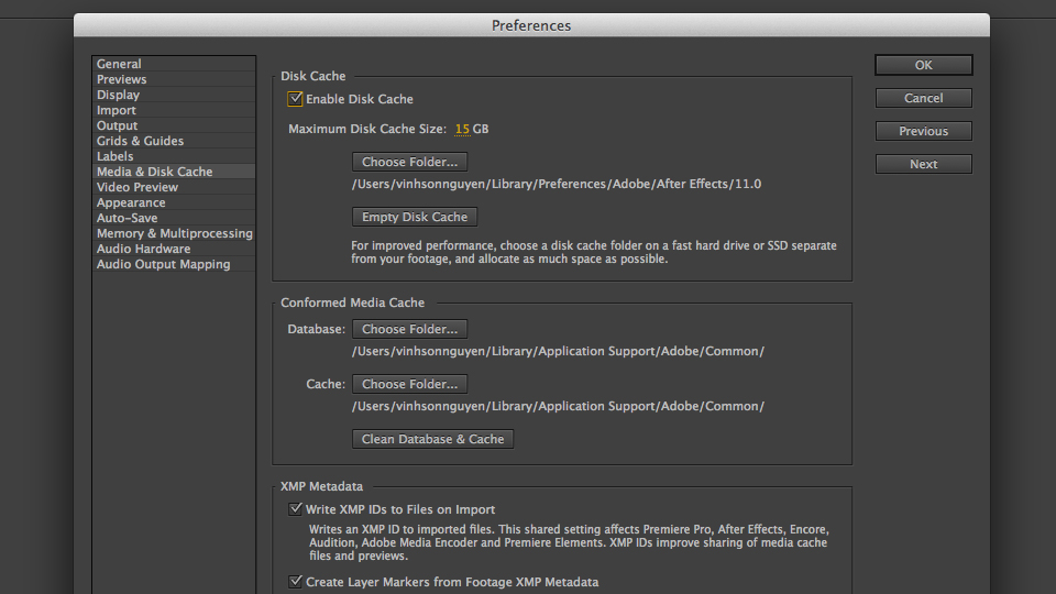 Clean Your After Effects Disk Cache   Creative Dojo