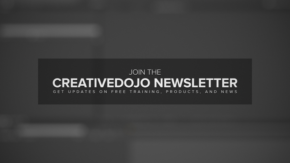 CreativeDojo Newsletter
