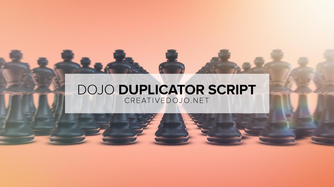 Dojo Duplicator Store Image