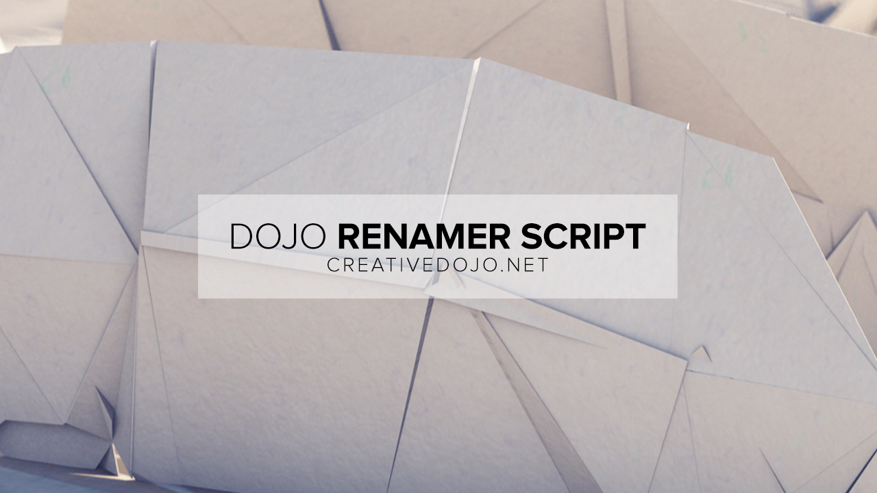 Dojo Renamer Thumbnail