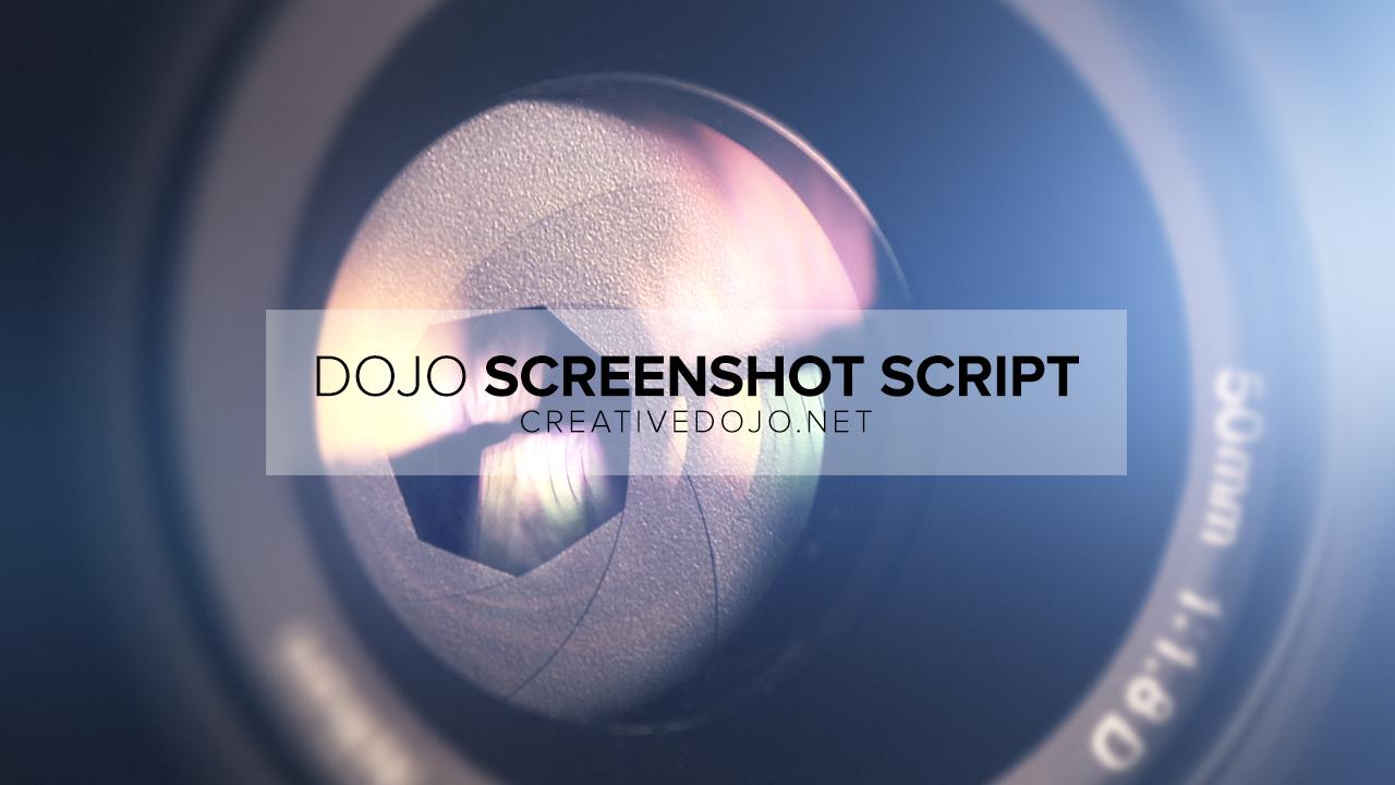 Dojo Screenshot Thumbnail