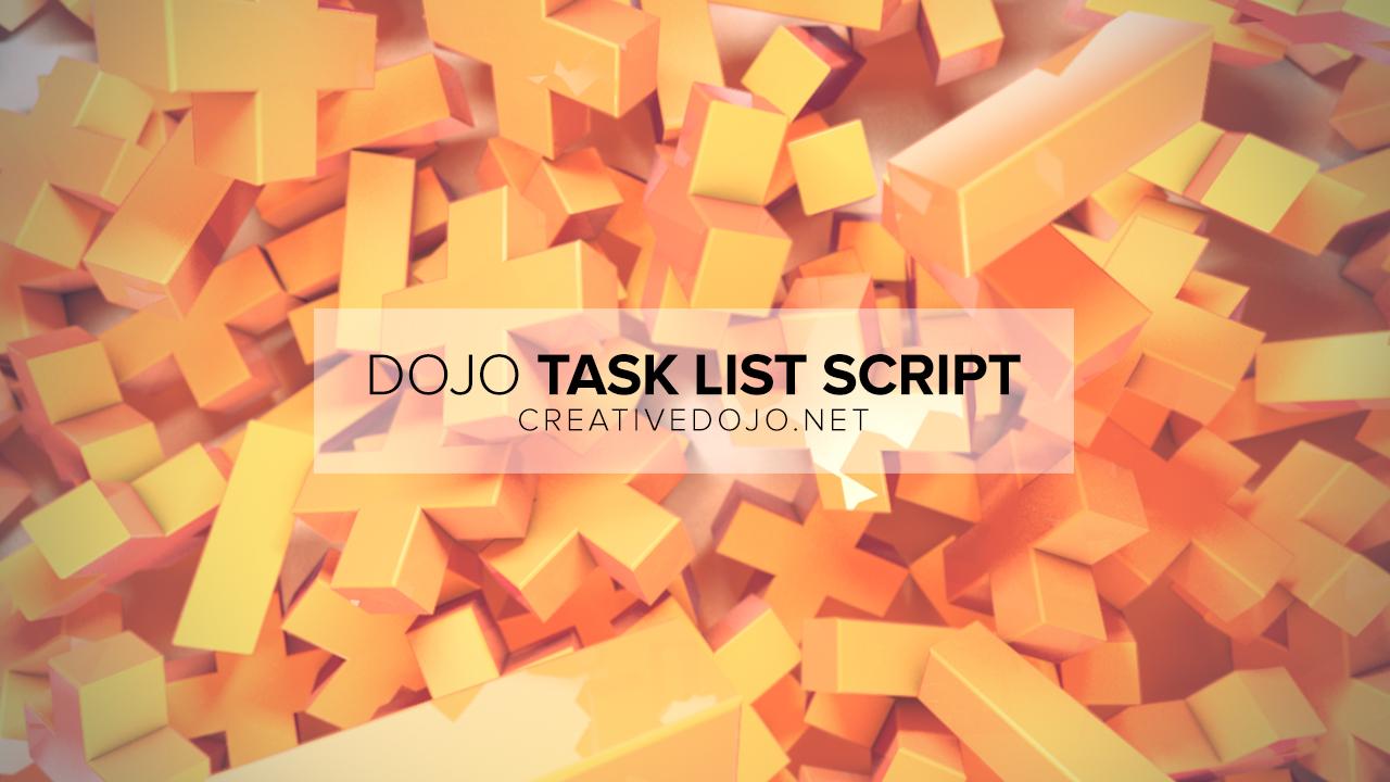 Dojo Task List Thumbnail