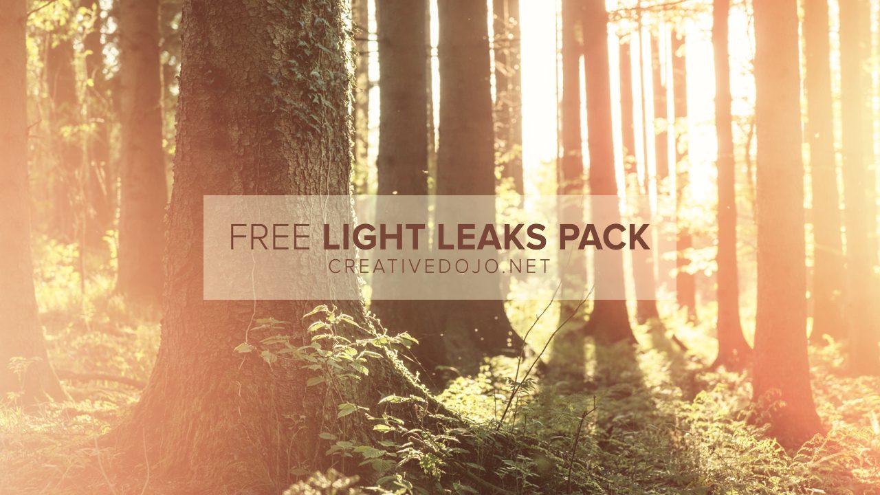 Free Light Leaks Pack | Creative Dojo
