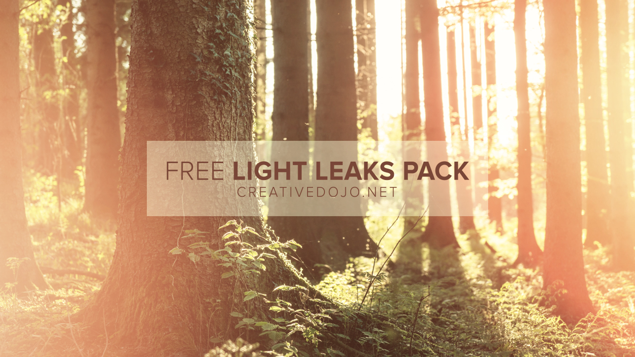Free Light Leaks Pack