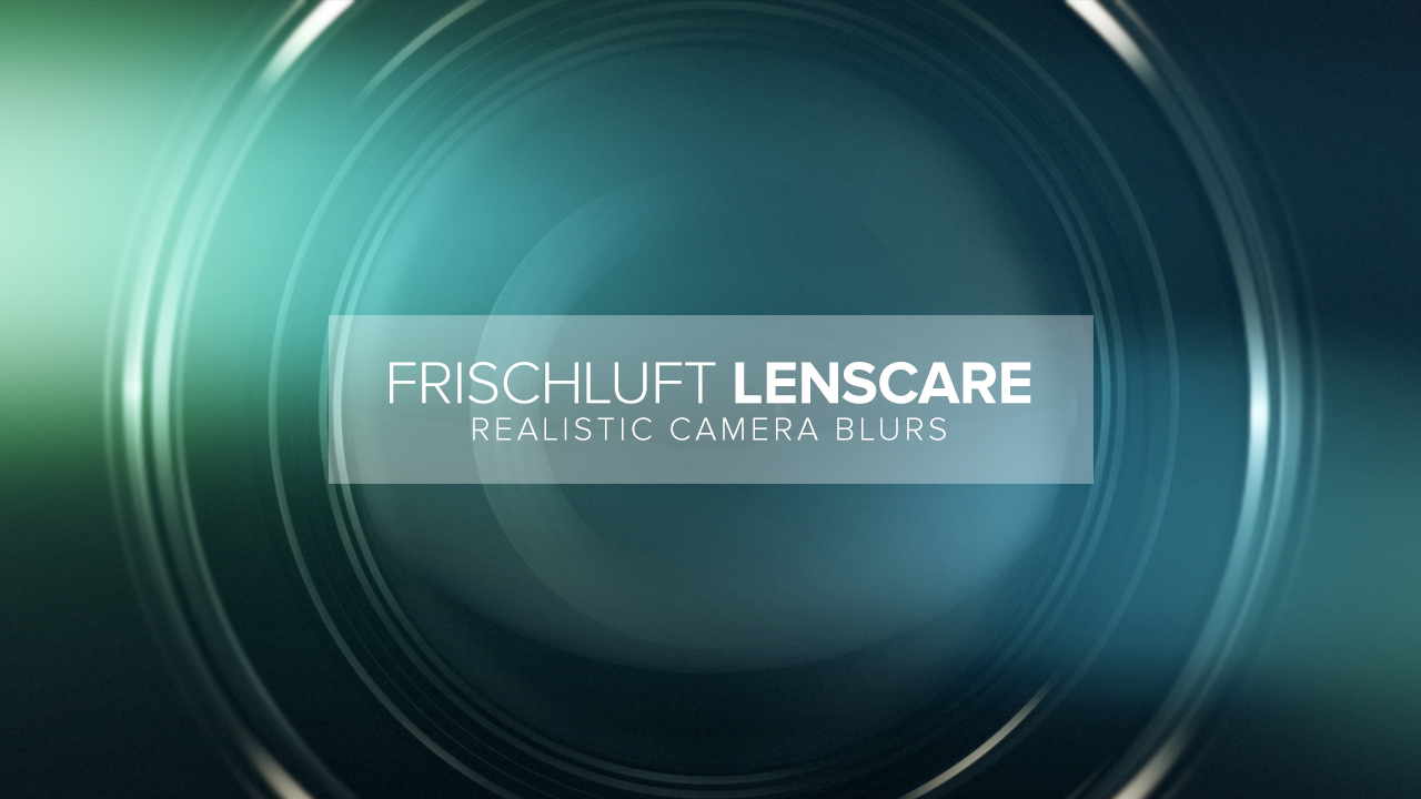 frischluft depth of field after effects