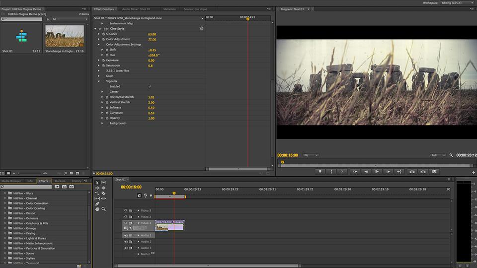 HitFilm Plugins Demo 02
