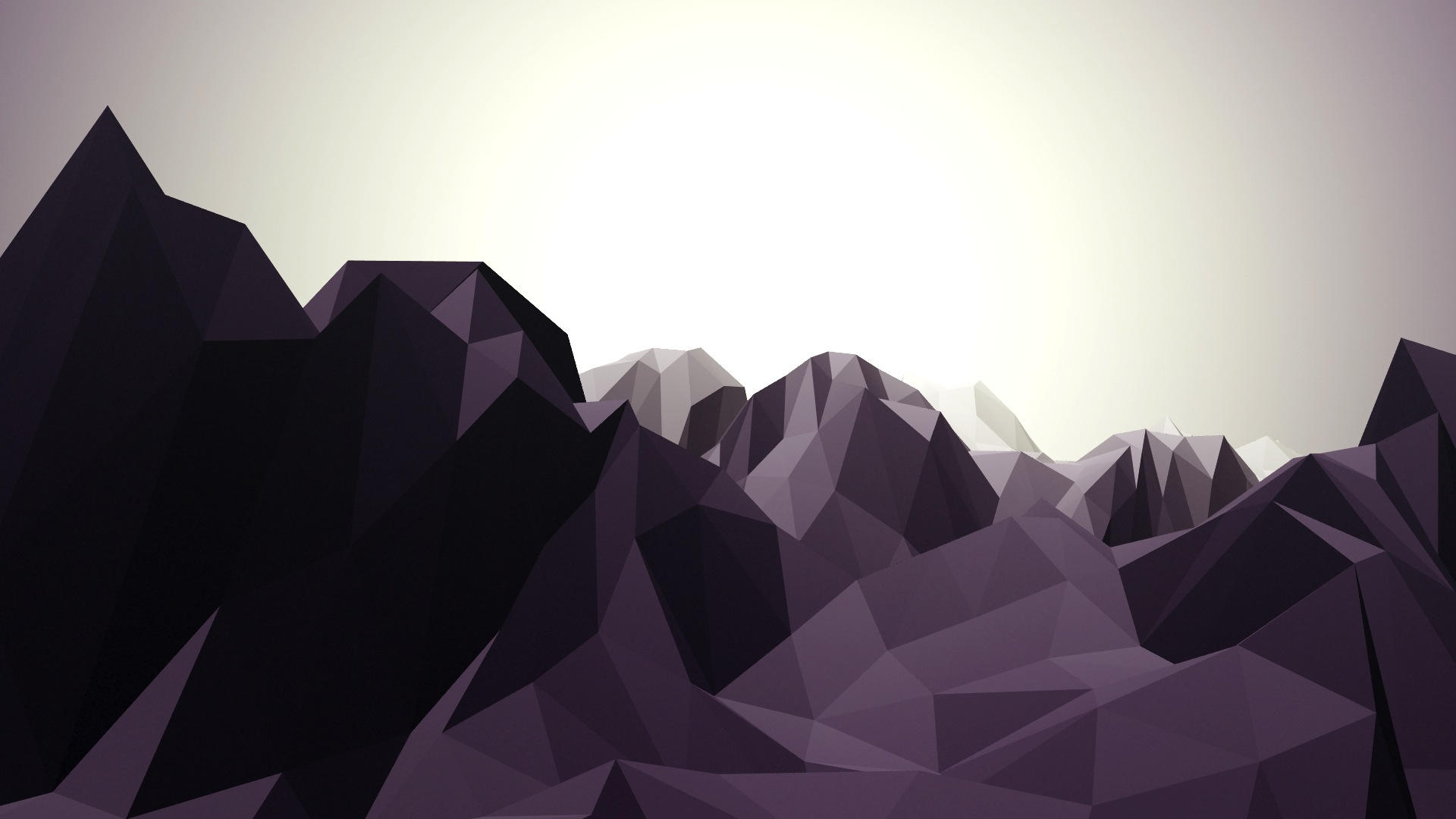 Low Poly Mountain Trapcode Mir
