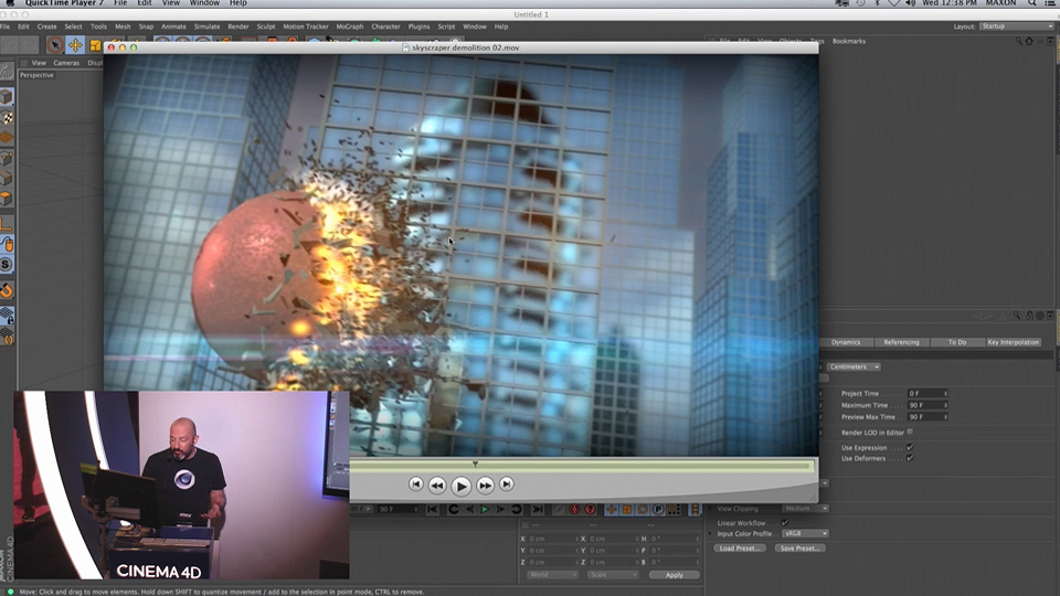 NAB 2015: X-Particles, Thinking Particles, and C4D Dynamics