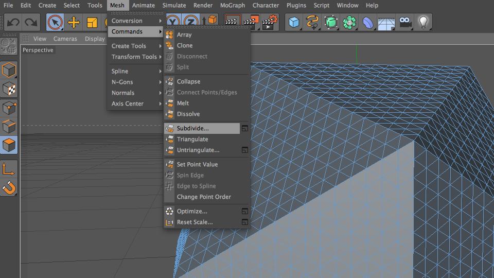 Polygon Subdivision Post 01