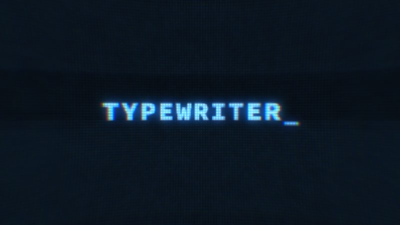 Typing Typewriter Animation in After Effects | Creative Dojo