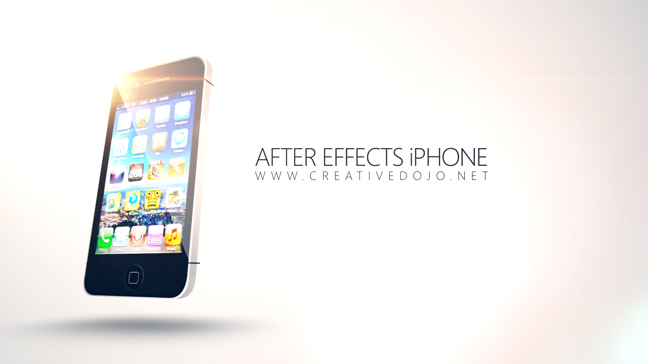 Building Iphones With After Effects Creative Dojo